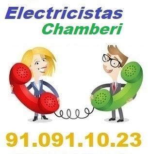 Telefono de la empresa electricistas Chamberi